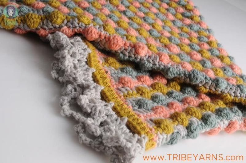 Rock-A-Bye Blanket CROCHET Pattern Mrs Moon Pattern