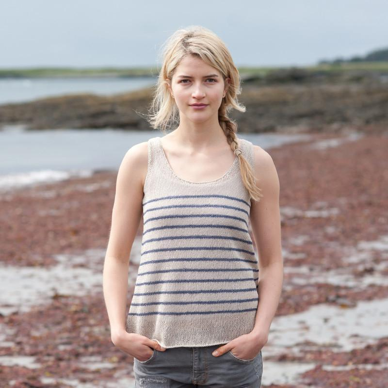 Saco Stripes Pattern Quince & Co. Knitting Pattern