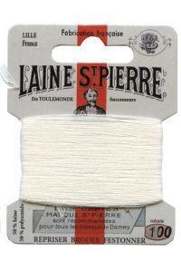 Sajou Laine St. Pierre Darning & Embroidery Thread/Wool Sajou Other Stuff 100-white