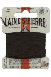 Sajou Laine St. Pierre Darning & Embroidery Thread/Wool Sajou Other Stuff 180-black