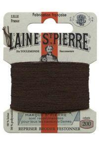 Sajou Laine St. Pierre Darning & Embroidery Thread/Wool Sajou Other Stuff 200-dark brown