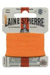 Sajou Laine St. Pierre Darning & Embroidery Thread/Wool Sajou Other Stuff 387-mandarine