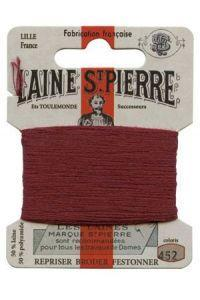 Sajou Laine St. Pierre Darning & Embroidery Thread/Wool Sajou Other Stuff 452-garnet