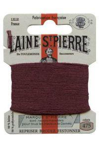 Sajou Laine St. Pierre Darning & Embroidery Thread/Wool Sajou Other Stuff 475-burgandy