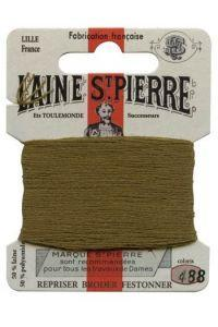 Sajou Laine St. Pierre Darning & Embroidery Thread/Wool Sajou Other Stuff 488-khaki