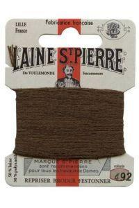 Sajou Laine St. Pierre Darning & Embroidery Thread/Wool Sajou Other Stuff 492-brown