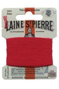 Sajou Laine St. Pierre Darning & Embroidery Thread/Wool Sajou Other Stuff 534-vermillion