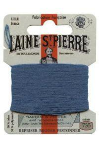 Sajou Laine St. Pierre Darning & Embroidery Thread/Wool Sajou Other Stuff 735-enamel blue