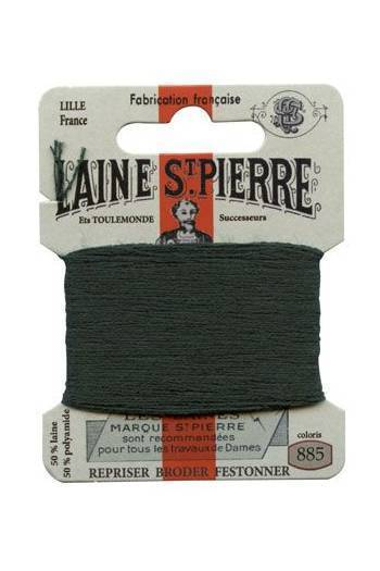 Sajou Laine St. Pierre Darning & Embroidery Thread/Wool Sajou Other Stuff 885-ivy green