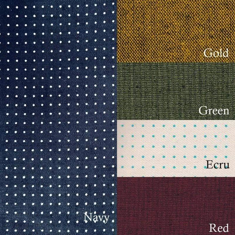 Sashiko Dot Grid Stencil Fabric Panel (Hitomezashi) Olympus Other Stuff