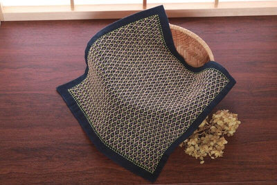 Sashiko Sampler - Hitomezashi Turtle Shell Navy Olympus Other Stuff