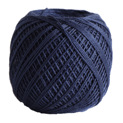 Sashiko Thread Fine - Olympus Cotton 80m Olympus Other Stuff 211 Navy