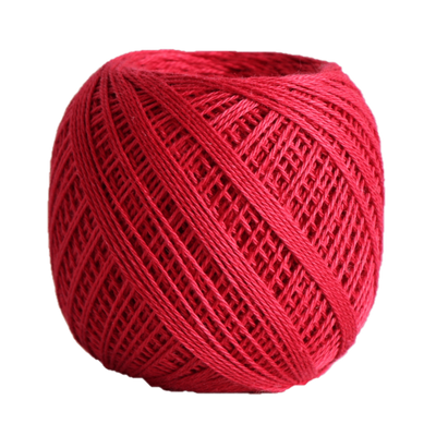 Sashiko Thread Fine - Olympus Cotton 80m Olympus Other Stuff 212 Red