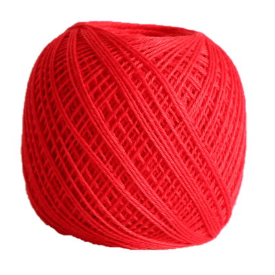 Sashiko Thread Fine - Olympus Cotton 80m Olympus Other Stuff 215 Bright Red