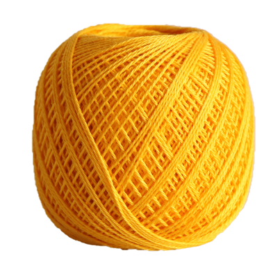 Sashiko Thread Fine - Olympus Cotton 80m Olympus Other Stuff 216 Yellow