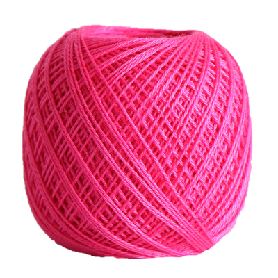 Sashiko Thread Fine - Olympus Cotton 80m Olympus Other Stuff 221 Bright Pink