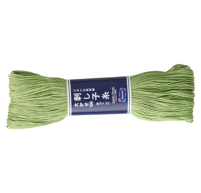 Sashiko Thread - Olympus Cotton 100m Olympus Other Stuff ST-107 Muted Green