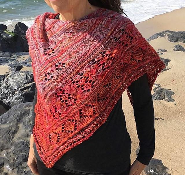 Scarlet Maples Shawl Pattern Artyarns Pattern