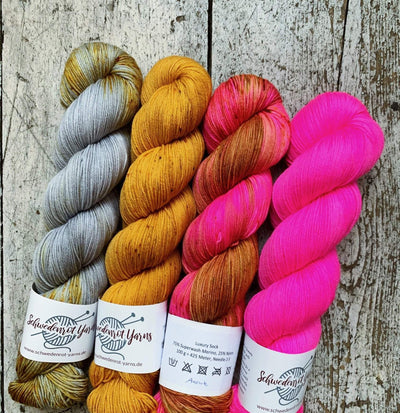 Schwedenrot Luxury Sock Schwedenrot Yarns Yarn