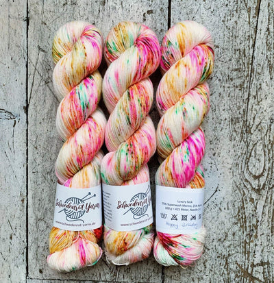 Schwedenrot Luxury Sock Schwedenrot Yarns Yarn Happy Birthday