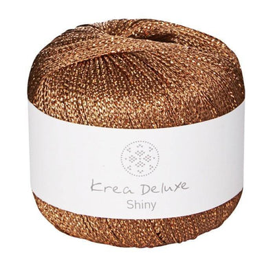 Shiny Krea Deluxe Yarn Shiny Gold
