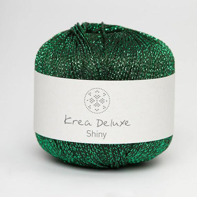 Shiny Krea Deluxe Yarn Shiny Green
