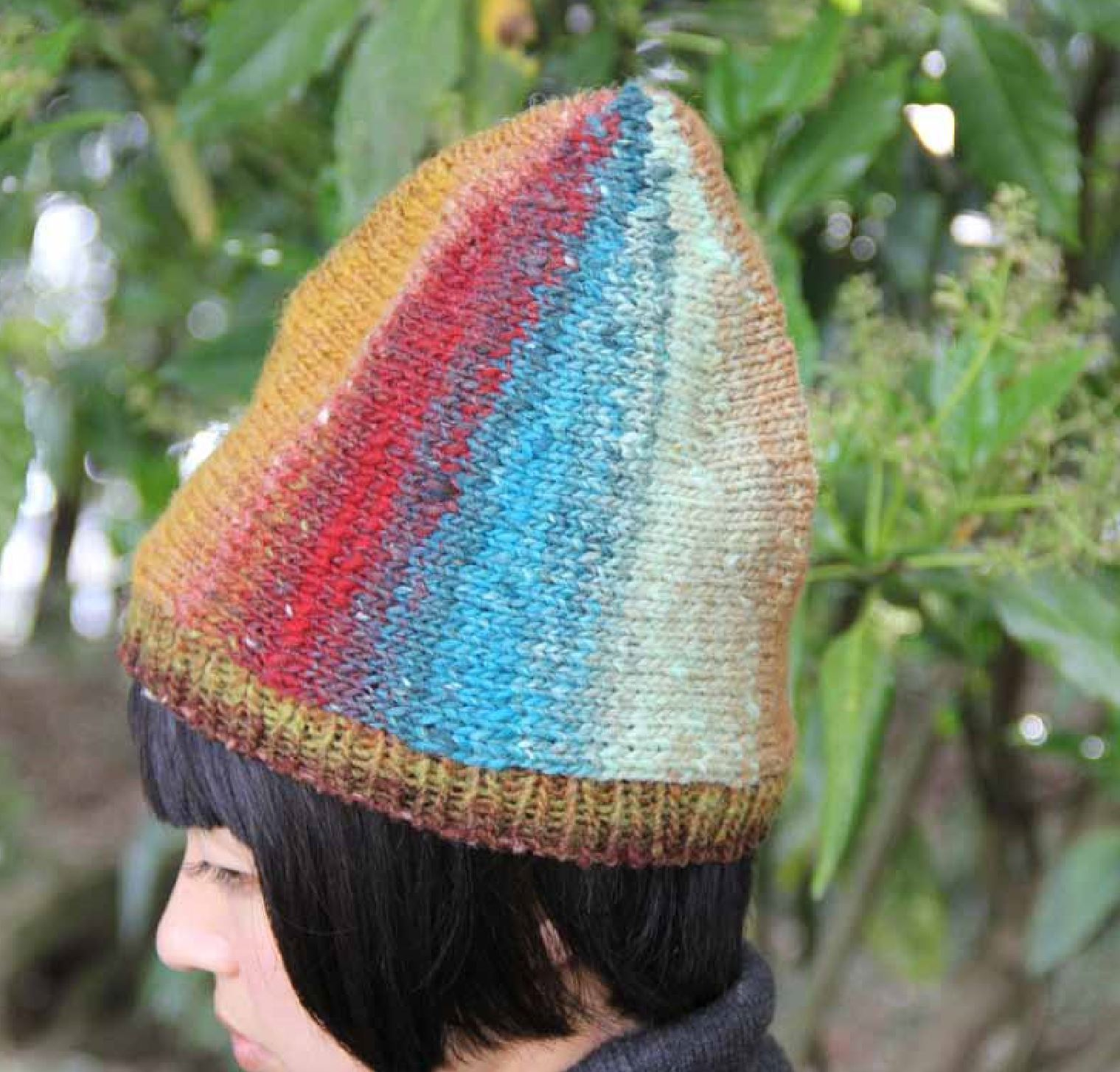 Sideways Hat Pattern by Noro Noro Pattern