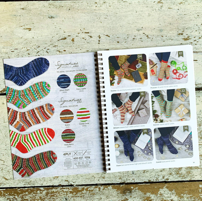 Signature Christmas Collection Pattern Book West Yorkshire Spinners Book