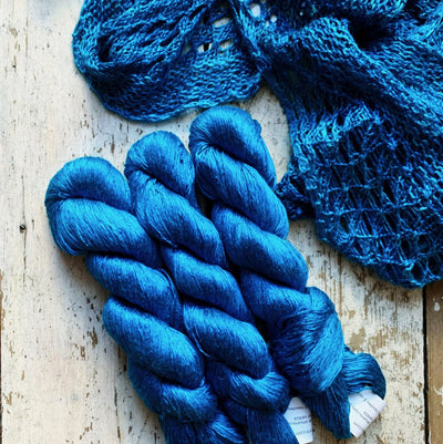 Silk Day Dream Artyarns Yarn 366 Egyptian Blue