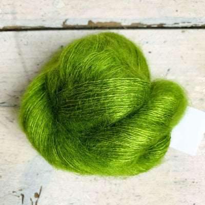 Silk Mohair by Artyarns Artyarns Yarn 285 Green Apple SM