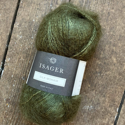 Silk Mohair Isager Yarn SM 68