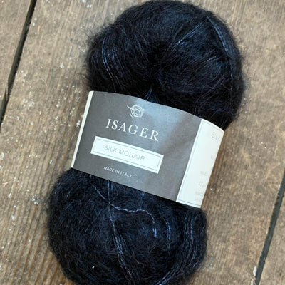 Silk Mohair Isager Yarn SM 30