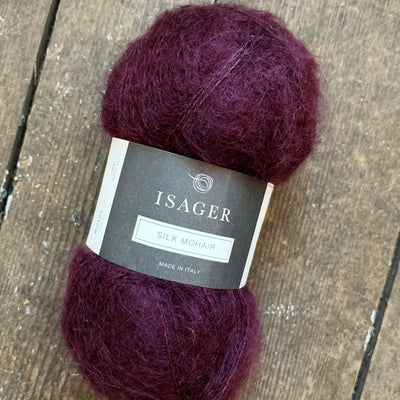 Silk Mohair Isager Yarn SM 36