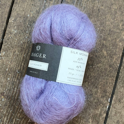 Silk Mohair Isager Yarn
