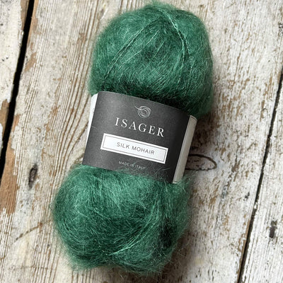 Silk Mohair Isager Yarn SM 56