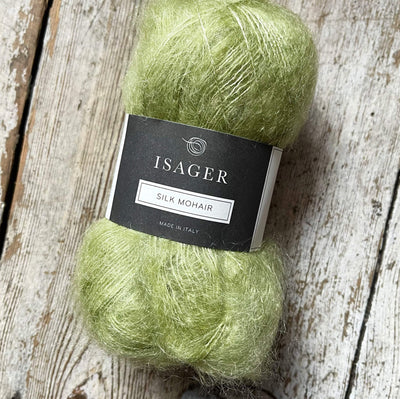 Silk Mohair Isager Yarn SM 57