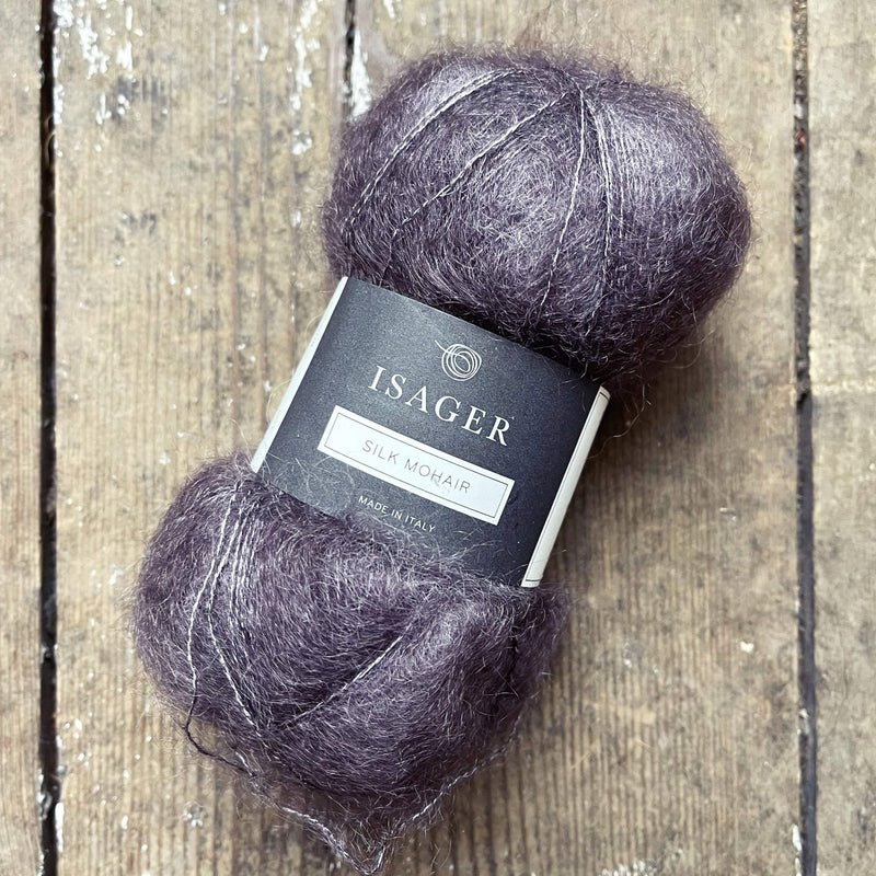 Silk Mohair Isager Yarn SM 2