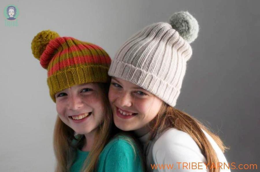Simple Rib Hat Pattern Mrs Moon Pattern