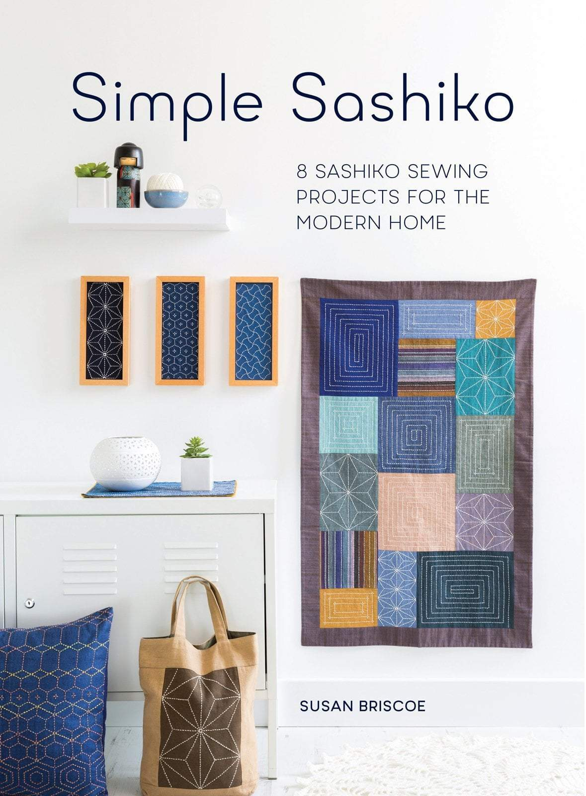 Simple Sashiko by Susan Briscoe Susan Briscoe Book