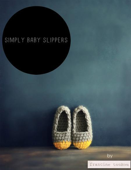 Simply Baby Slippers Crochet Pattern tribeyarns Pattern