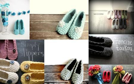 Simply Slippers CROCHET Pattern Mrs Moon Pattern