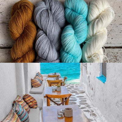 Slipstravaganza Westknits 2020 MKAL Kit tribeyarns Kits & Combos Leo+Gunmetal+Breakfast+BambooSilk / With Pattern