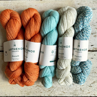 Slipstravaganza Westknits 2020 MKAL Kit tribeyarns Kits & Combos Marmalade+Spearmint+Marble+Harbour / Without Pattern
