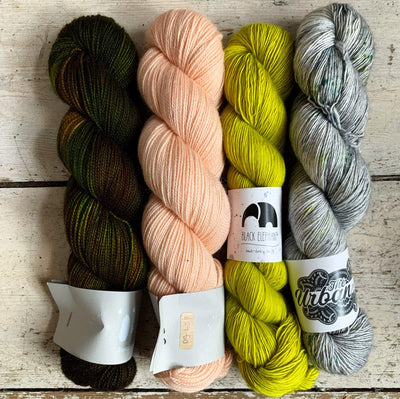 Slipstravaganza Westknits 2020 MKAL Kit tribeyarns Kits & Combos Moss+Dust+Vesna+GatheringMoss / With Pattern