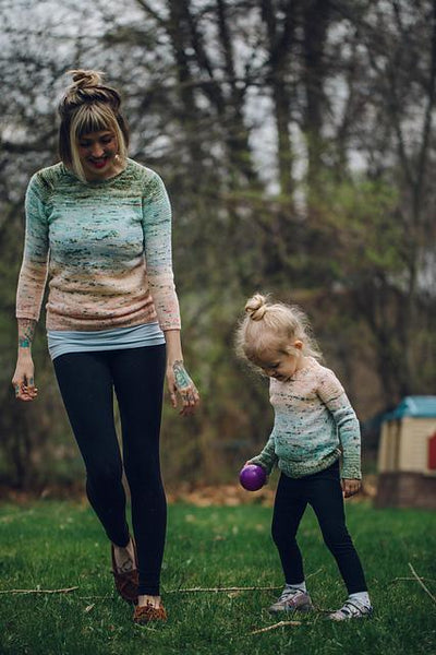 So Faded Pint Sized Pattern by Andrea Mowry tribeyarns Pattern