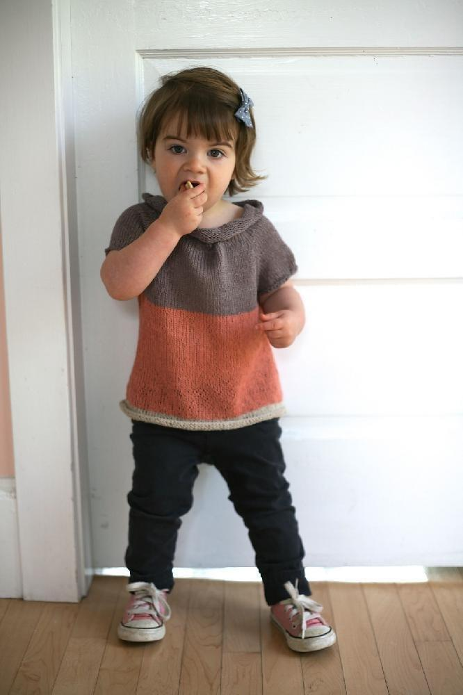 Sock Yarn Sweater - Child Pattern Knitbot Knitting Pattern