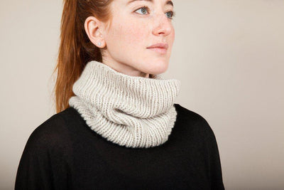 Sophia Cowl Pattern by Clinton Hill Cashmere Clinton Hill Cashmere Pattern