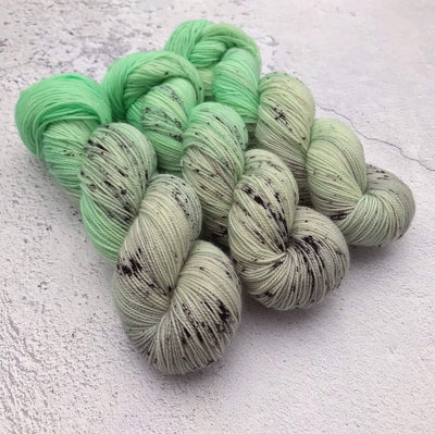 Spectrum BFL High Twist Spectrum Fibre Yarn Mint Choc Chip BFL