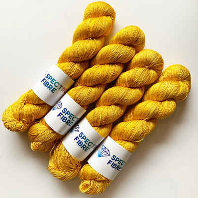 Spectrum Pure Silk Spectrum Fibre Yarn Amber Silk