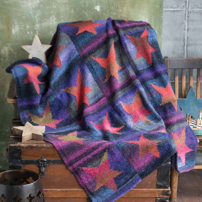 Star Blanket Pattern by Noro Noro Pattern